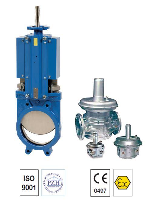 kife gate pressure reducing valves